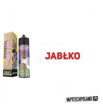 Premix Blok Ekipa - Walu z Ziomkami 40ml Smak: jabłkoZawartość: Butelka 60 ml zawiera 40 ml płynu, do którego wystarczy dodać