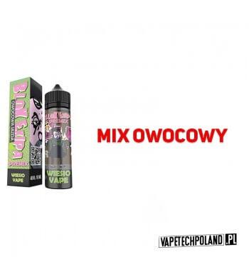 Premix Blok Ekipa - Wiesio Vape 40ml Smak: mix owocowyZawartość: Butelka 60 ml zawiera 40 ml płynu, do którego wystarczy doda
