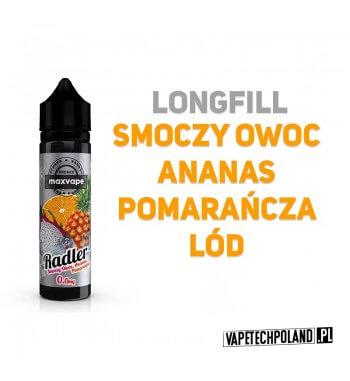 Longfill RADLER - Smoczy Owoc & Ananas & Pomarańcza & Lód 10ml Aromaty: smoczy owoc, ananas, pomarańcza, lódLongfill jest to