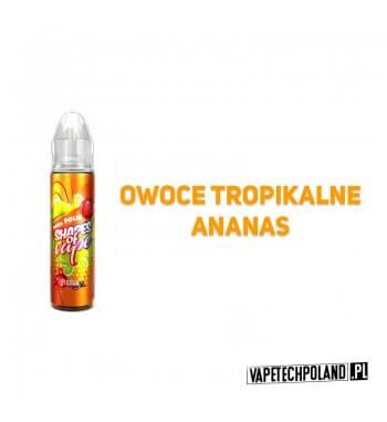 Premix SHAPES OF VAPE - PINEAPOLIS 50ml Premix o smaku owoców tropikalnych i ananasa.50ml płynu w butelce o pojemności 60ml.