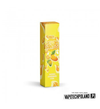 Longfill FANTOS - YELLOW FANTOS 9ML Aromaty: mango, lemoniada, kooladaLongfill jest to nowy produkt na rynku EIN. Charakteryz