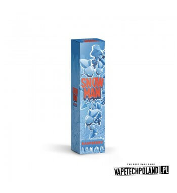 Longfill SNOWMAN - RASPBERRY 9ML Aromaty: malina, owoce leśne, czarna porzeczka, kooladaLongfill jest to nowy produkt na rynk