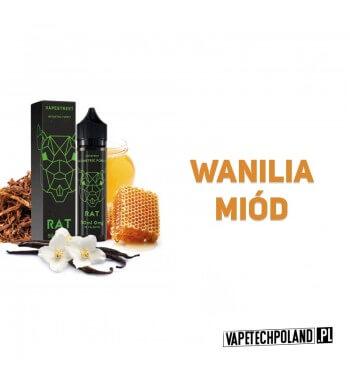 Premix GEOMETRIC FOREST - Rat 50ML Premix o smaku wanilii i miodu.50ml płynu w butelce o pojemności 60ml.Produkt Shake and