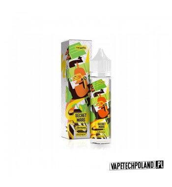 Premix SECRET WARS - Germany 50ML Premix o smaku cytryny i kremu.50ml płynu w butelce o pojemności 60ml.Produkt Shake and V