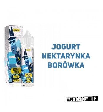 Premix SECRET WARS - Italy 40ML Premix o smaku jogurtu, nektarynki i borówki.40ml płynu w butelce o pojemności 60ml.Produkt