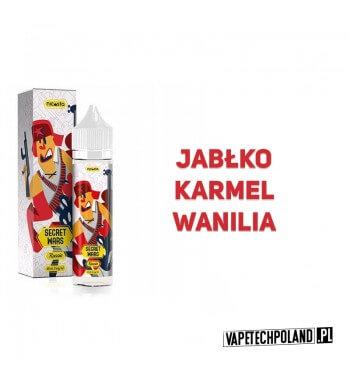 Premix SECRET WARS - Russia 40ML Premix o smaku jabłka, karmelu, wanilii..40ml płynu w butelce o pojemności 60ml.Produkt Sh