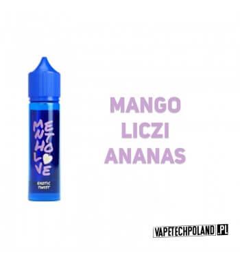 Longfill MENTHOLOVE - Exotic Twist 12ML Aromaty:mango, liczi, ananasLongfill jest to nowy produkt na rynku EIN. Charakteryzu