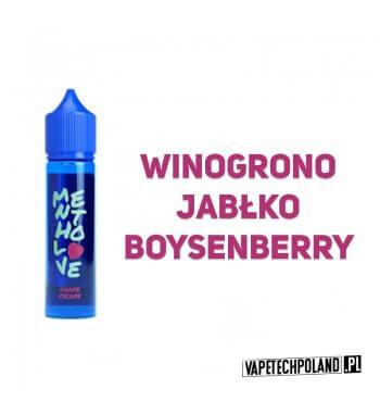 Longfill MENTHOLOVE - Grape Escape 12ML Aromaty:winogrono, jabłko, boysenberryLongfill jest to nowy produkt na rynku EIN. Ch