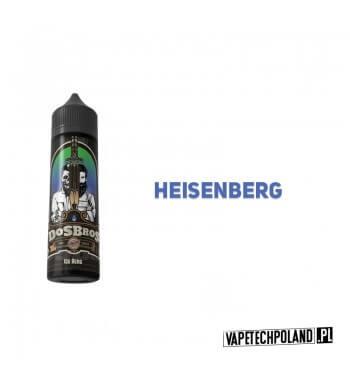 Longfill DOS BROS - Ice Berg 10ml Aromat: heisenbergLongfill jest to nowy produkt na rynku EIN. Charakteryzuje się małą zawar