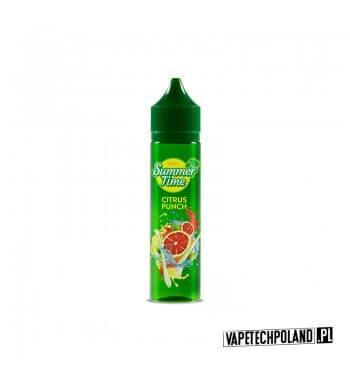 Longfill VAPY SUMMER TIME - Citrus Punch 10ml Aromaty:grejpfrut, lódLongfill jest to nowy produkt na rynku EIN. Charakteryzu