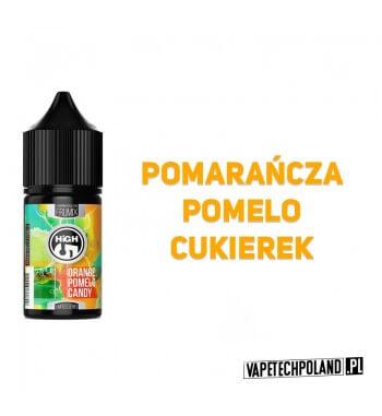 PREMIX HIGH5 FRUMIX No1 - ORANGE POMELO CANDY 20ml Premix o smakupomarańczy z pomelo.20ml płynu w butelce o pojemności 30ml.