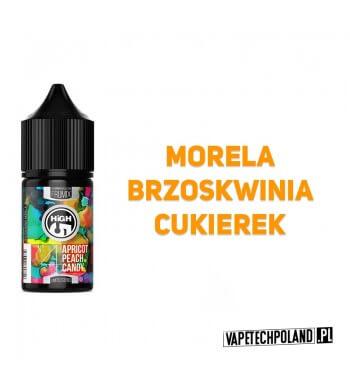 PREMIX HIGH5 FRUMIX No4 - MORELA BRZOSKWINIA CUKIEREK 20ml Premix o smaku moreli, brzoskwini.20ml płynu w butelce o pojemnośc