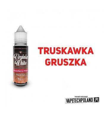 PREMIX VIRGINIA WHITE - Strawberry Pear 40ML Premix VIRGINIA WHITE o smaku truskawki i gruszki. 400ML PŁYNU W BUTELCE O POJEMNO