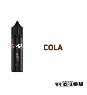 LONGFILL SIMPL - Cola 6ml Longfill o smaku napoju cola. Longfill jest to nowy produkt na rynku EIN. Charakteryzuje się małą zaw