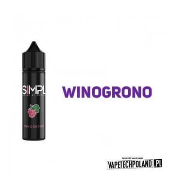 LONGFILL SIMPL - Winogrono 6ml Longfill o smakuwinogrona. Longfill jest to nowy produkt na rynku EIN. Charakteryzuje się małą