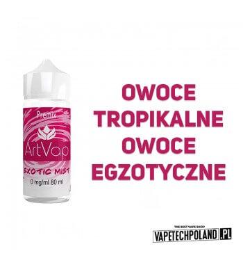 Premix Artvap - Exotic Mist 80ML Premix o smaku owoców tropikalnych. 80ml płynu w butelce o pojemności 120ml.Produkt Shake an
