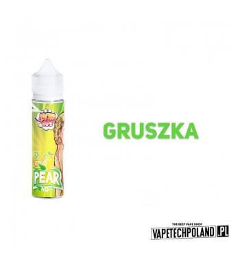 Premix Jacks Vape - Gruszka 40ML PREMIXJACKS VAPEO SMAKUgruszki.40ML PŁYNU W BUTELCE O POJEMNOŚCI 60ML.PRODUKT SHAKE AND