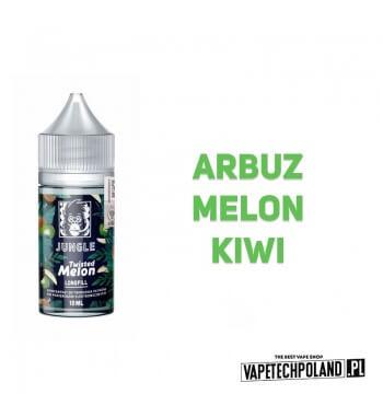 Longfill JUNGLE - Twisted Melon 10ML Premix o smakuarbuza, melona i kiwi. 10ml płynu w butelce o pojemności 30ml Płyny typu S