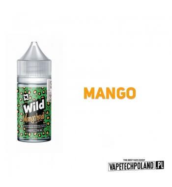 LONGFILL WILD - Mango Heat 10ML Premix o smaku mango i moreli. 10ml płynu w butelce o pojemności 30ml Płyny typu Shake and Vape
