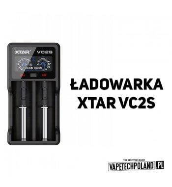 Ładowarka dwukanałowa XTAR VC2S wyświetlacz Ładowarka XTAR VC2S do 10440-26650 USB Li-ION/Ni-MH/Ni-CD 2 kanały Najnowsza, innow