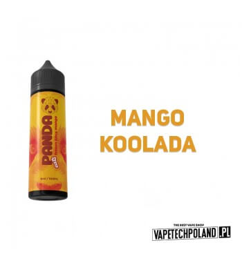 LONGFILL VAPY PANDA - Frozen Mango Juice 6ml Longfill o smaku egzotycznego mango z kooladą. Longfill jest to nowy produkt na ry