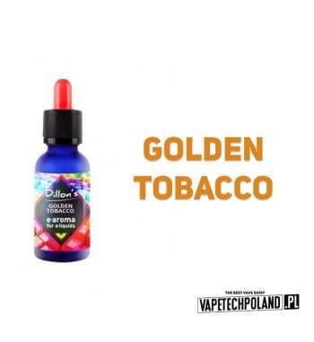Aromat Dillons - Golden Tobacco 15ml Aromat o smaku tytoniu.  Sugerowane dozowanie: 7-15% Pojemność: 15ml Kwota podatku akcyzo