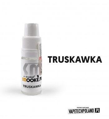 Aromat SMOOKE 10ML - Truskawka Aromat o smaku truskawki. Pojemność : 10ML Kwota podatku akcyzowego : 6,76 zł brutto. 2