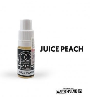 Aromat SMOOKE TPA 10ML - Juice Peach Aromat o smaku soczystej brzoskwini. Pojemność : 10ML Kwota podatku akcyzowego : 6,76 zł b