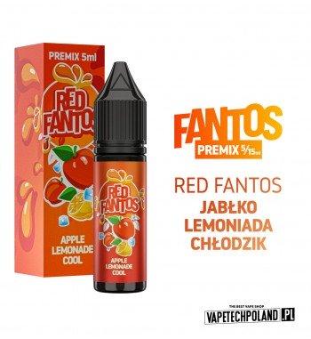 PREMIX FANTOS - RED FANTOS 5ML chłodząca lemoniada o smaku soczystych jabłek PREMIX 5/15ML NOWA FORMA PRODUKTU,KTÓRA WYMAGA OD