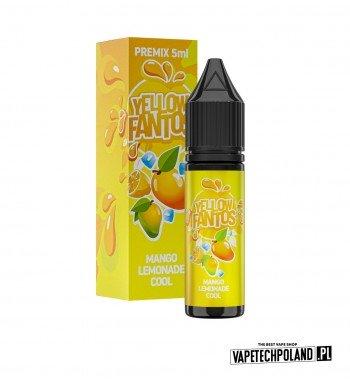 PREMIX FANTOS - YELLOW FANTOS 5ML chłodząca lemoniada o smakusłodkiego mango PREMIX 5/15ML NOWA FORMA PRODUKTU,KTÓRA WYMAGA O