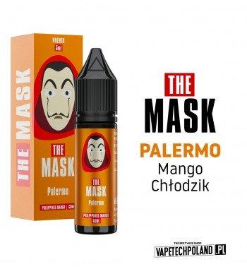 PREMIX THE MASK - PALERMO 5ML premix o smakusłodkiego mango z dodatkiem chłodzika PREMIX 5/15ML NOWA FORMA PRODUKTU,KTÓRA WYM