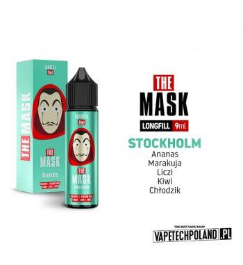 Longfill THE MASK - Stockholm 9ML Aromaty: ananas, marakuja, liczi, kiwi, chłodzik.Longfill jest to nowy produkt na rynku EIN