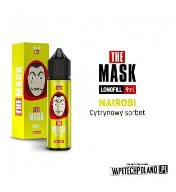 Longfill THE MASK - Nairobi 9ML Aromaty: cytrynowy sorbet.Longfill jest to nowy produkt na rynku EIN. Charakteryzuje się małą