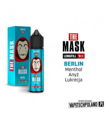 Longfill THE MASK - Berlin 9ML Aromaty:mentol, anyż, lukrecjaLongfill jest to nowy produkt na rynku EIN. Charakteryzuje się