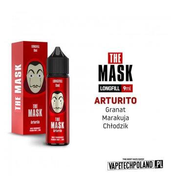 Longfill THE MASK - Arturito 9ML Aromaty:granat, marakuja,kooladaLongfill jest to nowy produkt na rynku EIN. Charakteryzuje