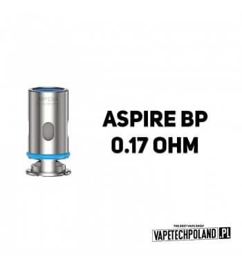 Grzałka - Aspire BP - 0.17ohm Grzałka - Aspire BP - 0.17ohm Pasuje do następujących sprzętów:Aspire BP60 KitAspire BP60 PodsAsp