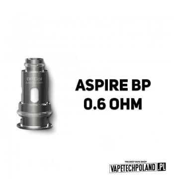 Grzałka - Aspire BP - 0.6ohm Grzałka - Aspire BP - 0.6ohm Pasuje do następujących sprzętów: Aspire BP60 KitAspire BP60 PodsAspi