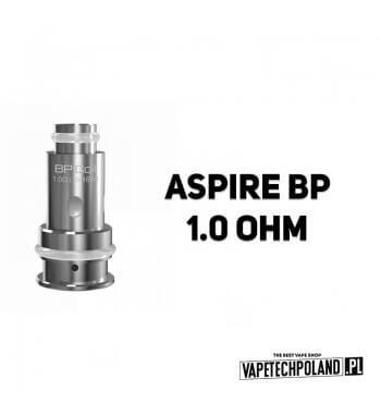 Grzałka - Aspire BP - 1.0ohm Grzałka - Aspire BP - 1.0ohm Pasuje do następujących sprzętów: Aspire BP60 KitAspire BP60 PodsAspi
