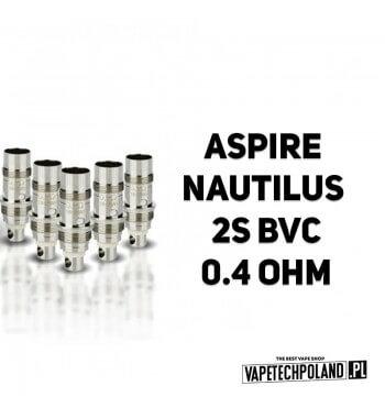 Grzałka - Aspire Nautilus 2S BVC - 0.4ohm Grzałka - Aspire Nautilus 2S BVC - 0.4ohm Pasuje do następujących sprzętów: -Aspire N