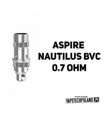 Grzałka - Aspire Nautilus BVC - 0.7ohm Grzałka - Aspire Nautilus BVC - 0.7ohm Pasuje do następujących sprzętów: -atomizer Aspi