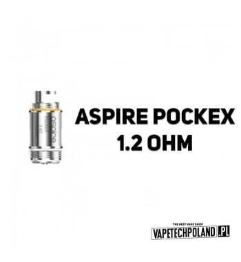 Grzałka - Aspire PockeX - 1.2ohm Grzałka - Aspire PockeX - 1.2ohm Pasuje do następujących sprzętów: -Aspire PockeX Aio Kit 2