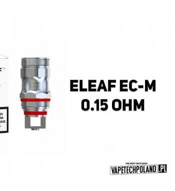 Grzałka - Eleaf EC-M - 0.15ohm Grzałka - Eleaf EC-M - 0.15ohm Pasuje do następujących sprzętów: - atomizer Eleaf ECM-atomizer