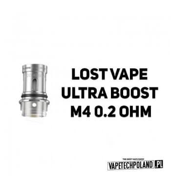Grzałka - Lost Vape Ultra Boost M4 - 0.2ohm Grzałka - Lost Vape Ultra Boost M4 - 0.2ohm Grzałka pasuję do następujących sprzętó