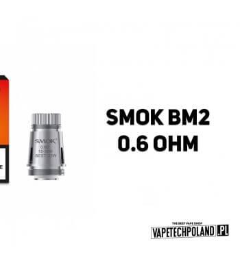Grzałka - Smok BM2 - 0.6ohm Grzałka - Smok BM2 - 0.6ohm Grzałka pasuję do następujących sprzętów: -Smok Brit One Mini 2