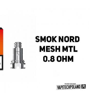 Grzałka - Smok Nord Mesh MTL - 0.8ohm Grzałka - Smok Nord Mesh MTL - 0.8ohm Grzałka pasuję do następujących sprzętów: - Smok No