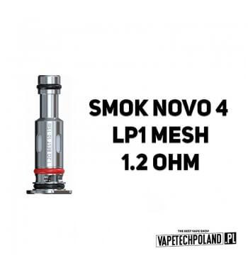 Grzałka - Smok Novo 4 LP1 mesh - 1.2ohm Grzałka - Smok Novo 4 LP1 mesh - 1.2ohm Grzałka pasuję do następujących sprzętów: - SMO