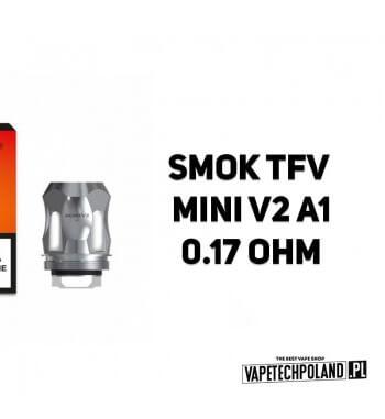 Grzałka - Smok TFV Mini V2 A1 - 0.17ohm Grzałka - Smok TFV Mini V2 A1 - 0.17ohm Grzałka pasuję do następujących sprzętów: - Smo