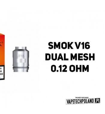 Grzałka - Smok V16 Dual Mesh - 0.12ohm Grzałka - Smok V16 Dual Mesh - 0.12ohm Grzałka pasuję do następujących sprzętów: - Smok