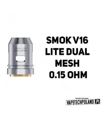 Grzałka - Smok V16 LITE Dual Mesh - 0.15ohm Grzałka - Smok V16 LITE Dual Mesh - 0.15ohm Grzałka pasuję do następujących sprzętó