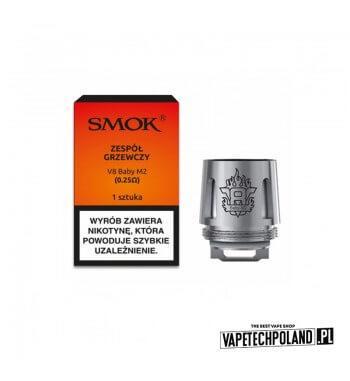 Grzałka - Smok V8 Baby M2 - 0.25ohm Grzałka - Smok V8 Baby M2 - 0.25ohm Grzałka pasuję do następujących sprzętów: - Smok Stick